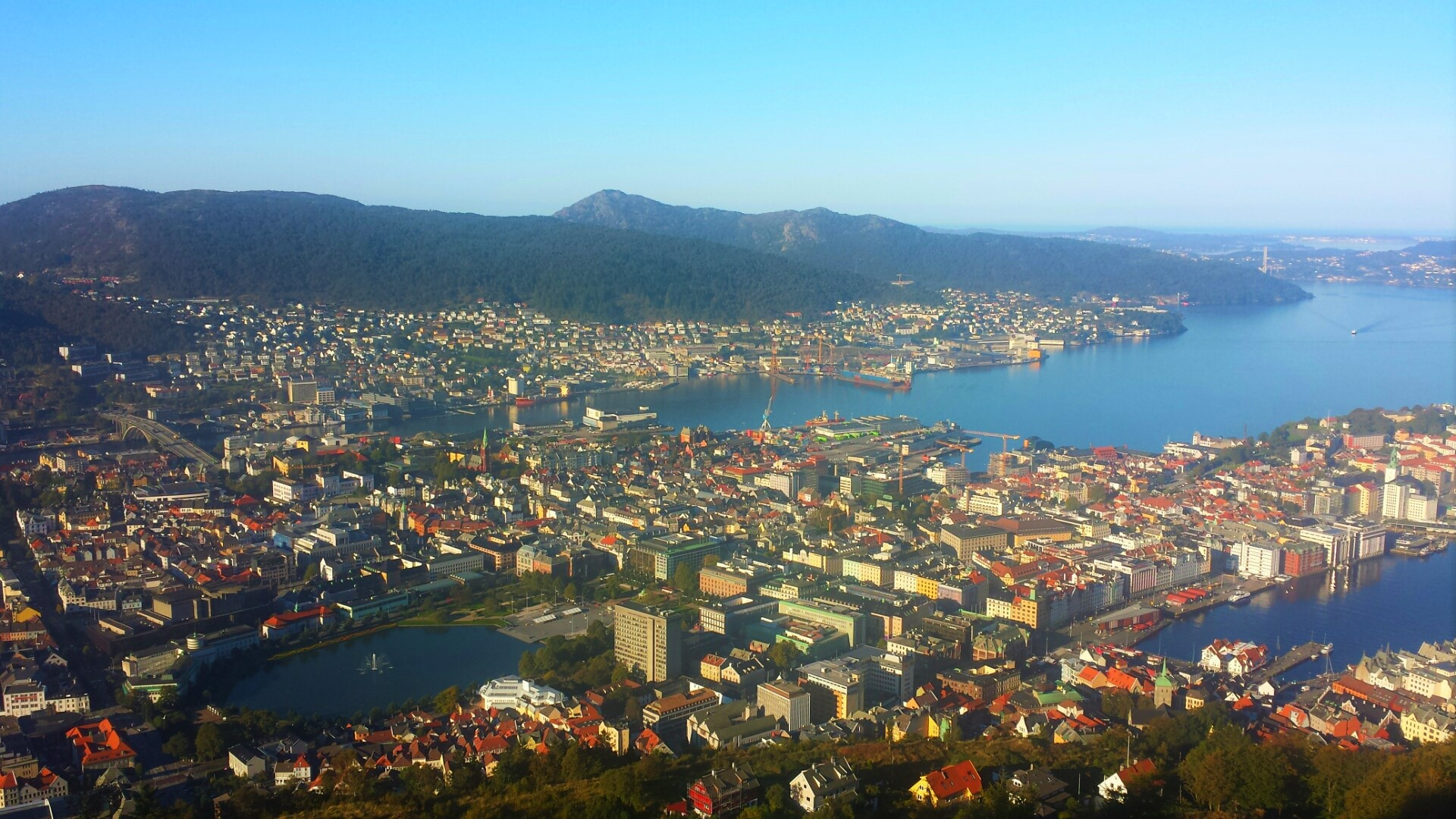 Views_Bergen_Norway_Mount_Floyen