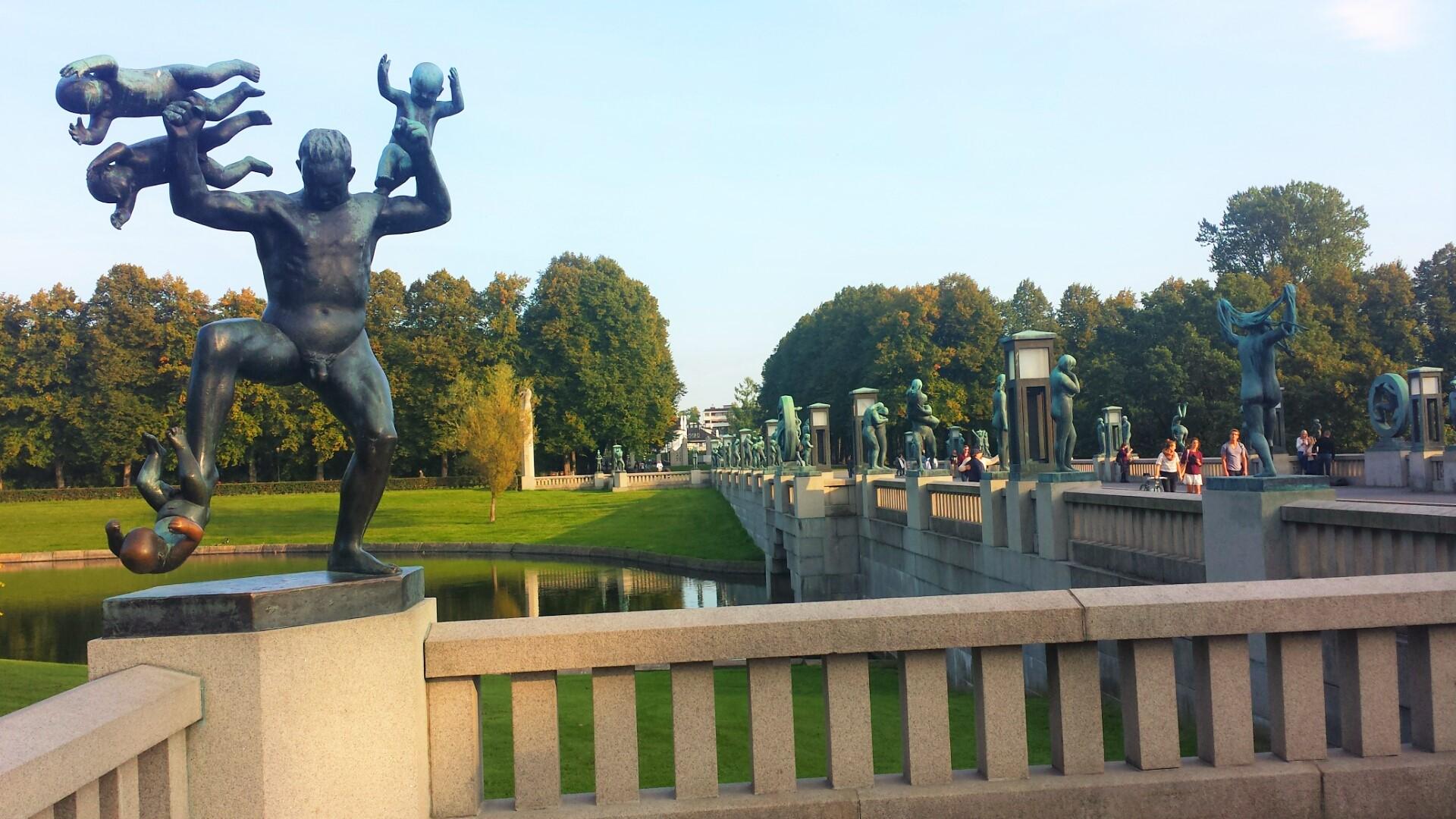 Vigelandsparken_Oslo_Norway