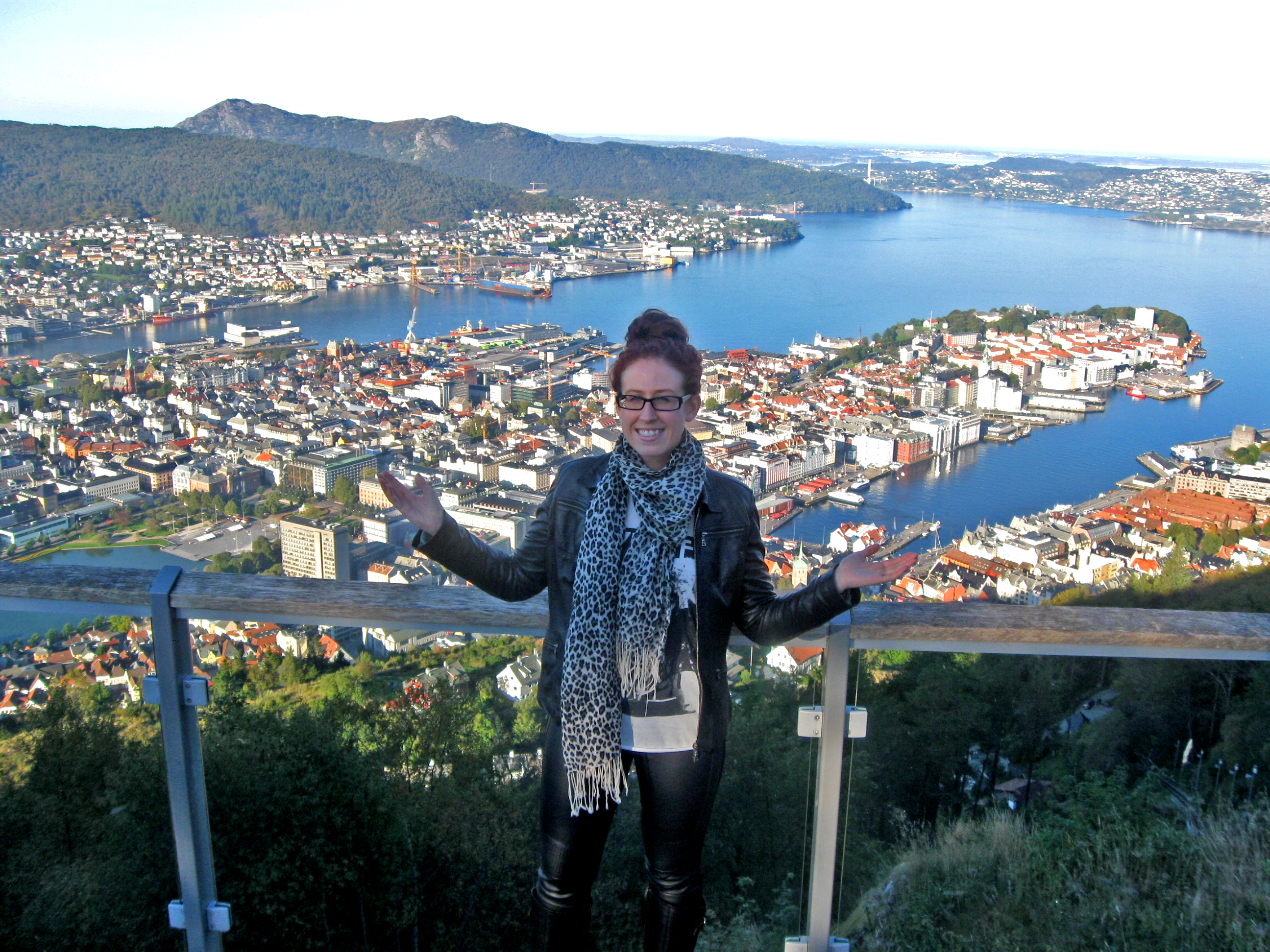 Exploring Mount Floyen in Bergen Norway