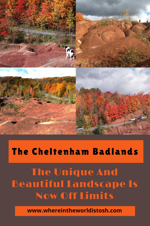 The Cheltenham Badlands Off Limits