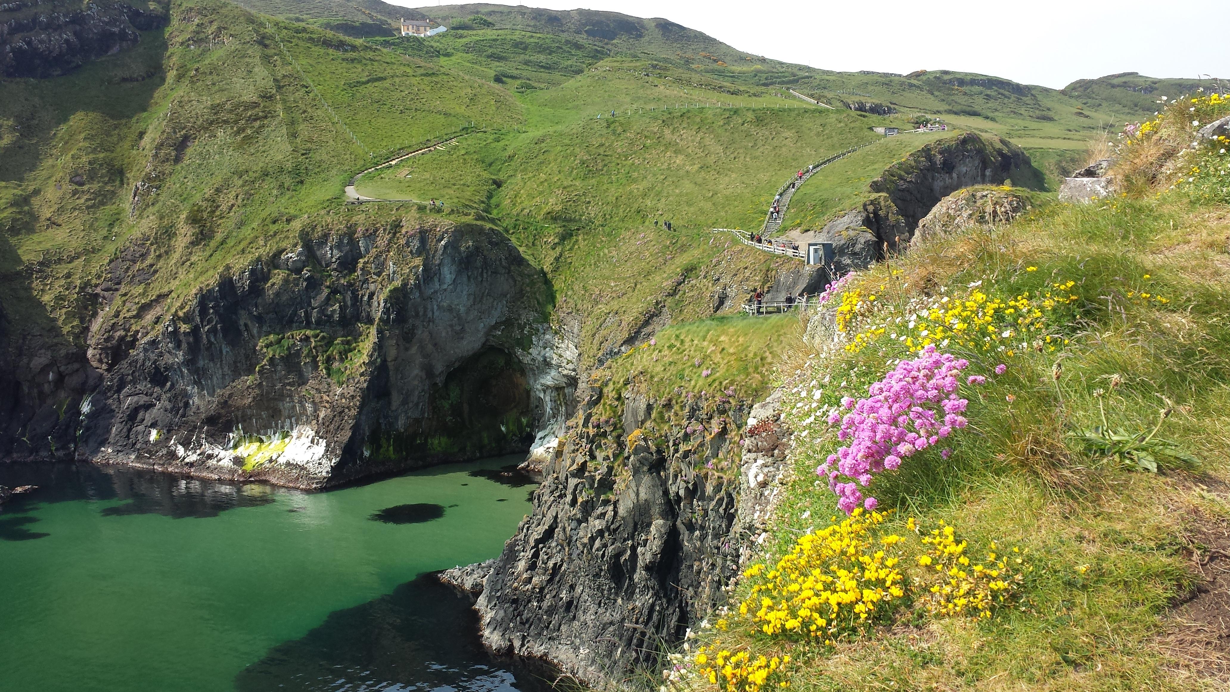 Exploring_CarrickARede_Rope_Bridge_Northern_Ireland