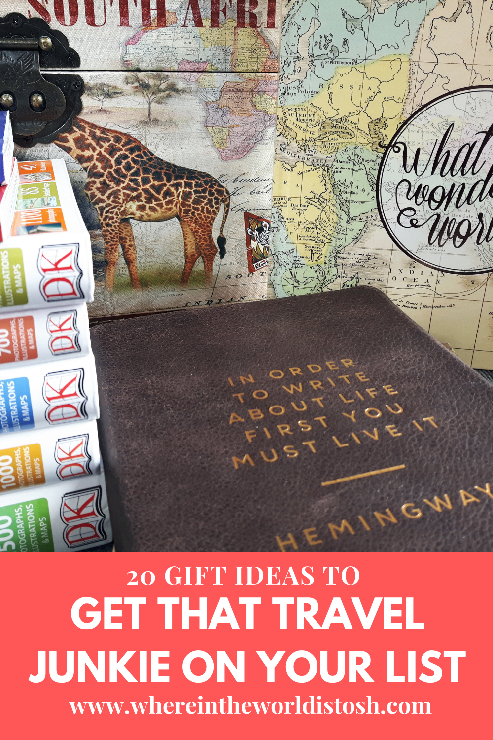 20 Gifts To Get That Travel Junkie On Your List