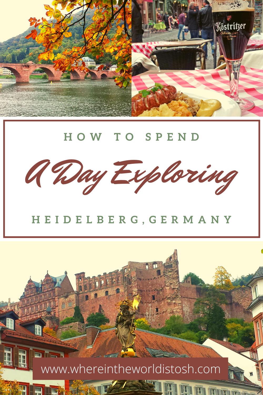 A Day Exploring Heidelberg Germany