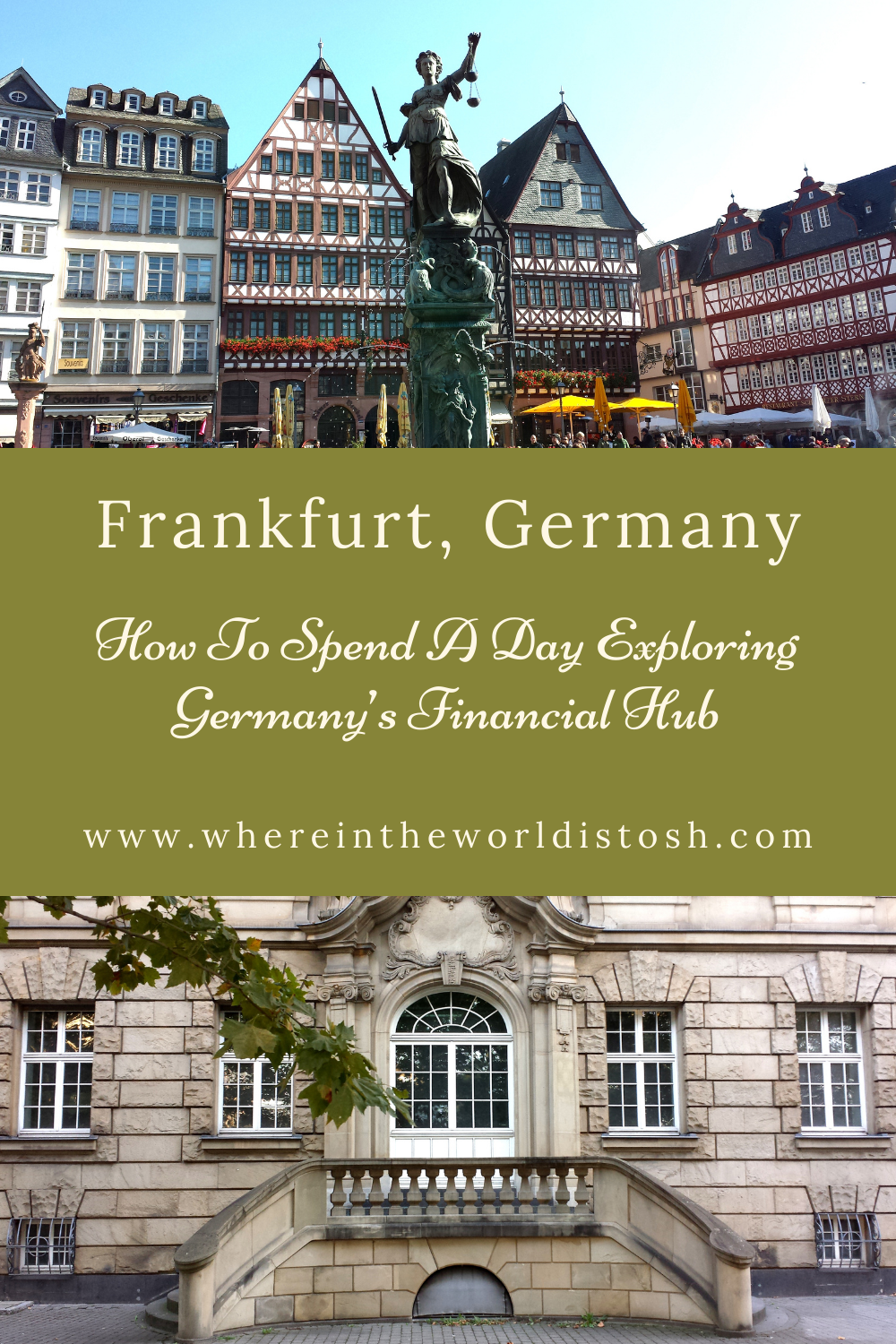 Frankfurt Germany A Day Exploring