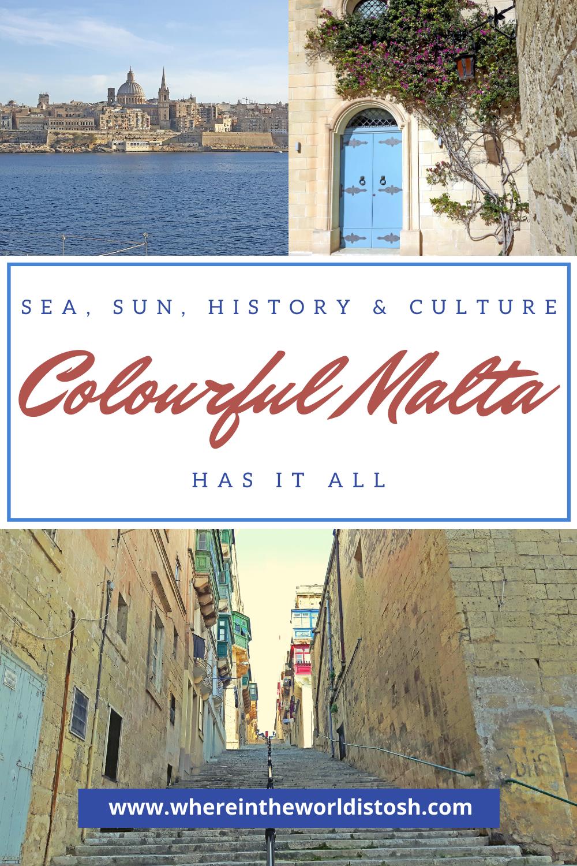 Colourful Malta Has It All