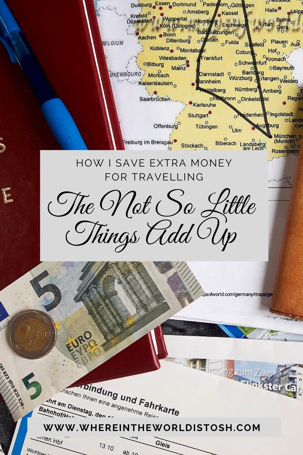 How I Save Money To Travel