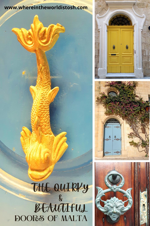 Quirky Doors Of Malta