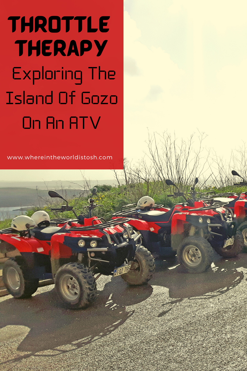Throttle Therapy - Exploring The Island Of Gozo On An ATV