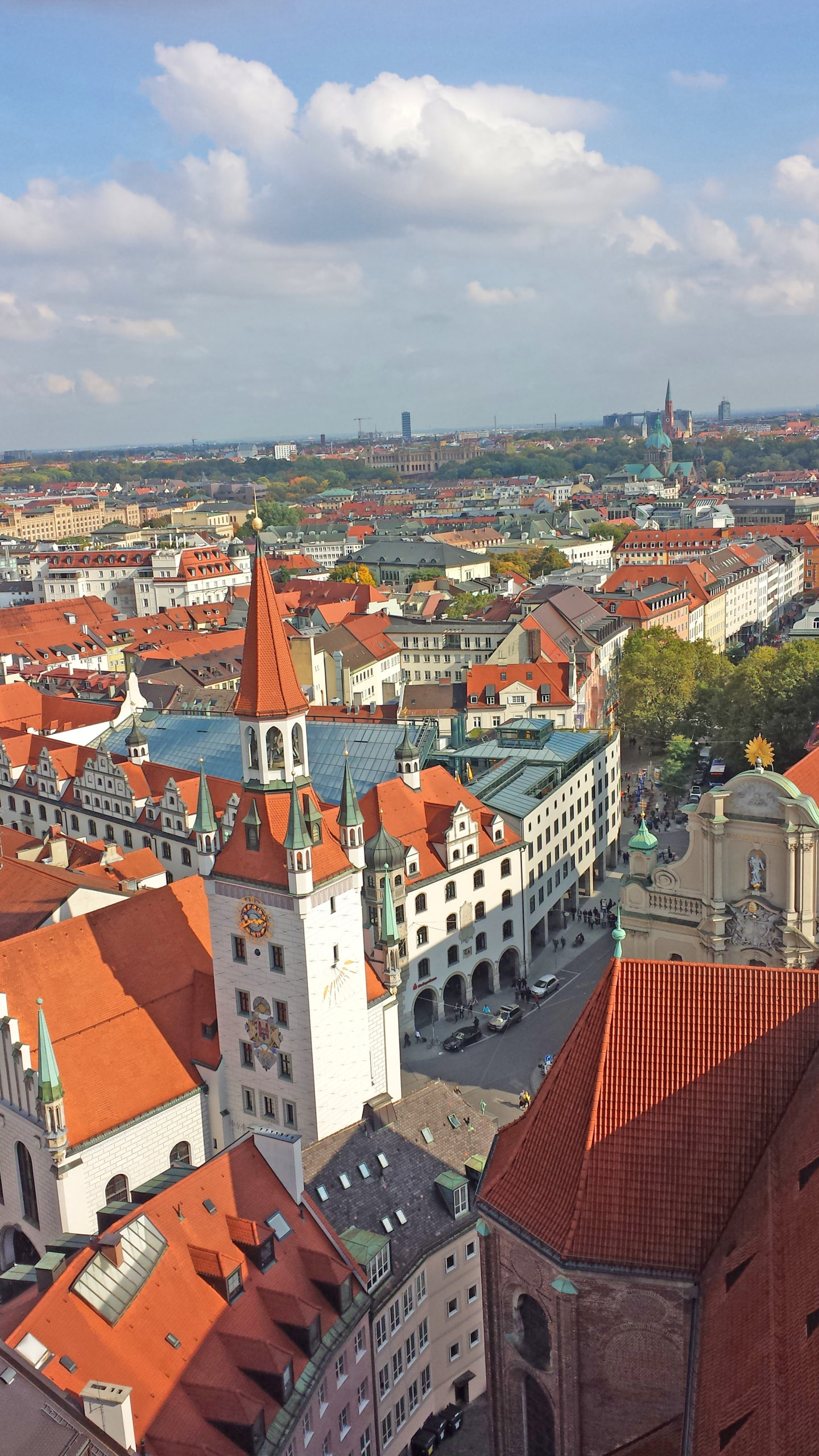Marienplatz From Above - Munich's Most Beautiful Vantage Points