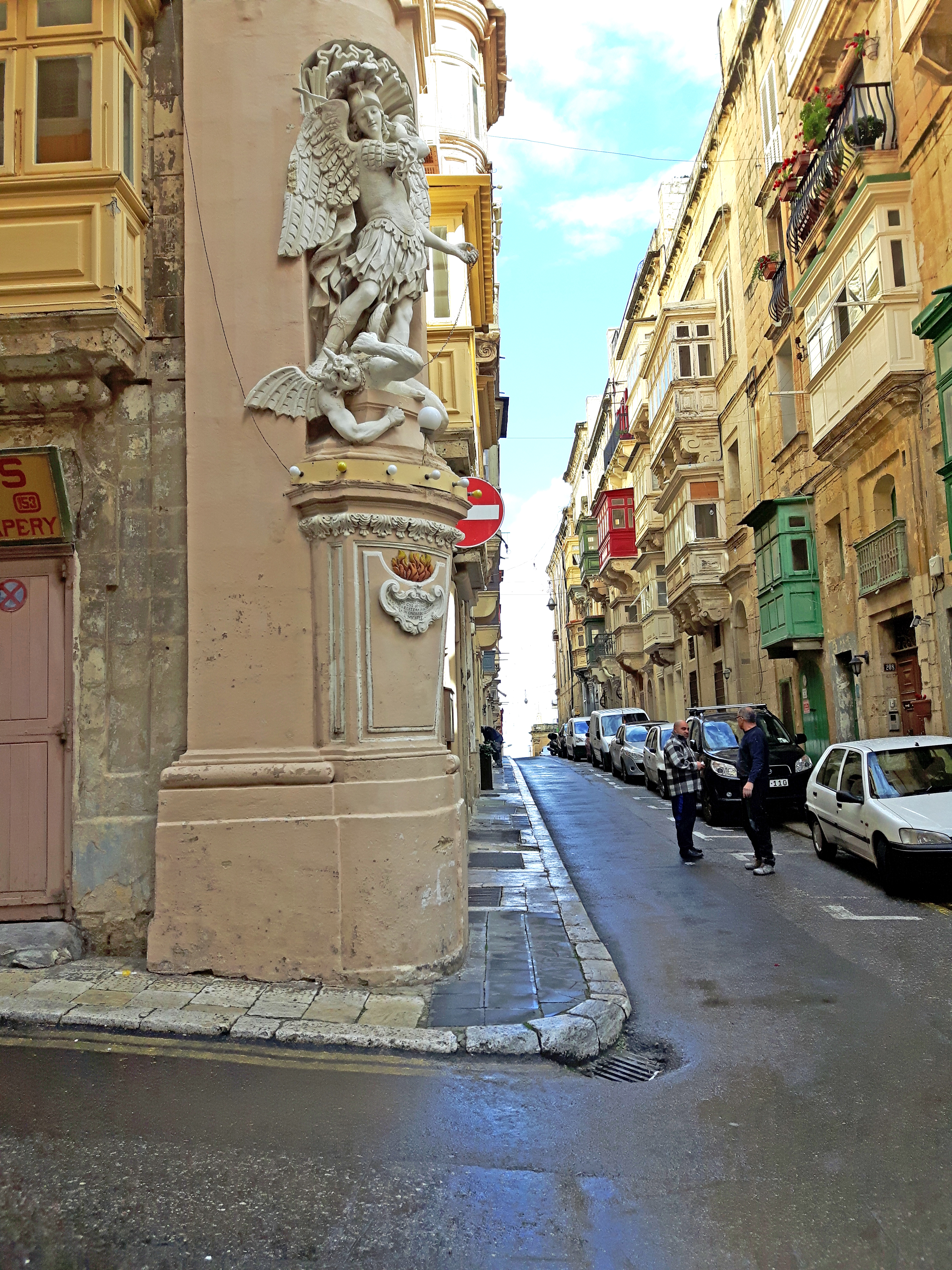 Streets of Valletta_Malta_Europe