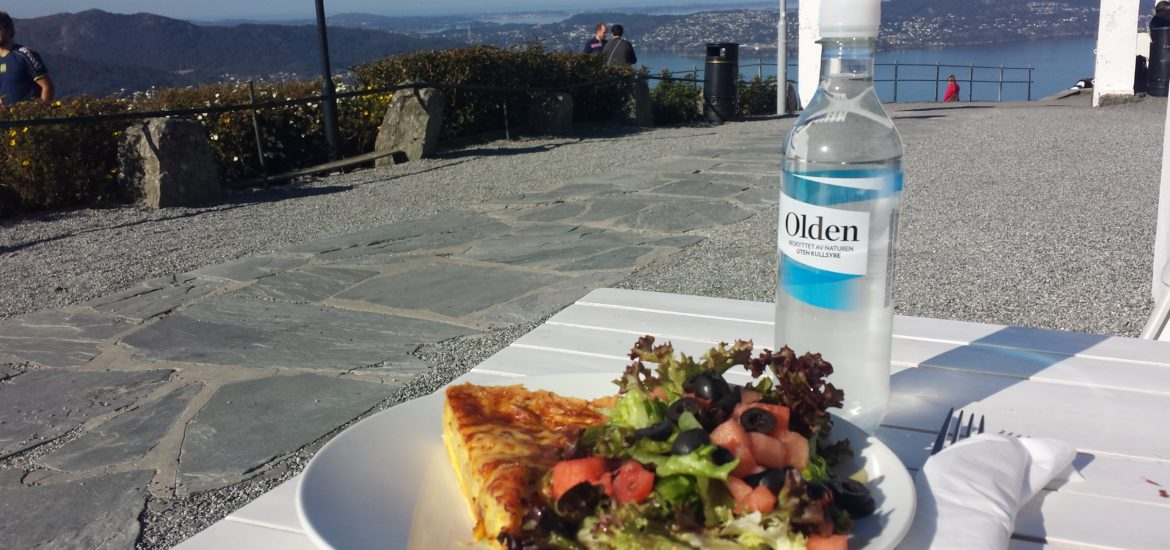 Lunch_Mount_Floyen_Bergen_Norway