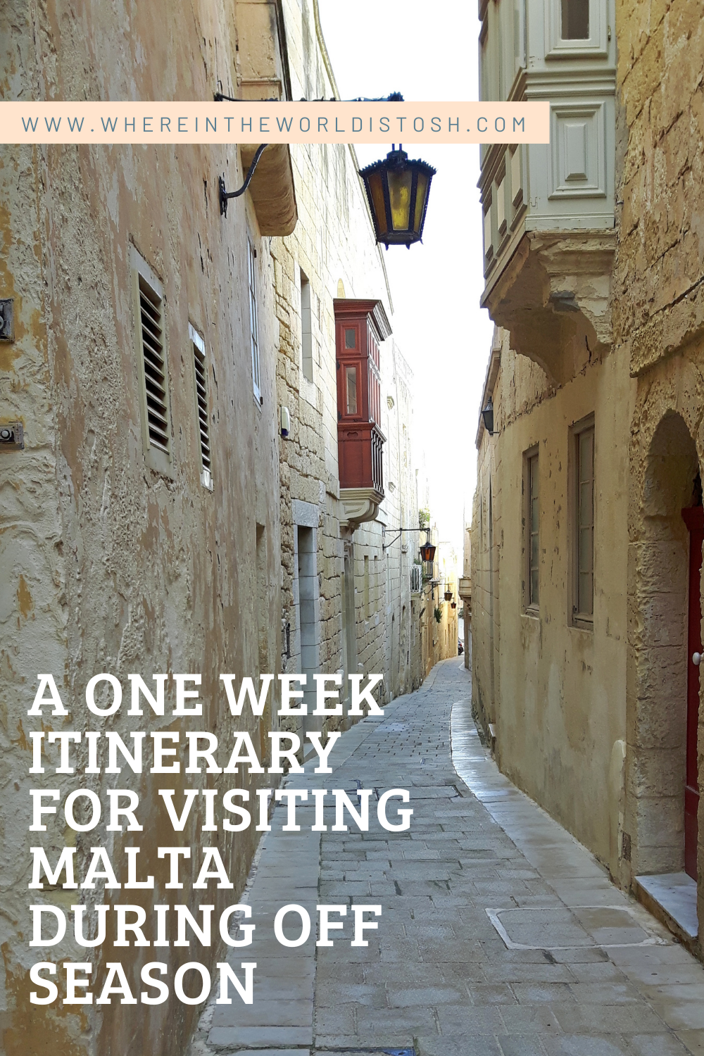 One Week Itinerary For Malta In Off Season