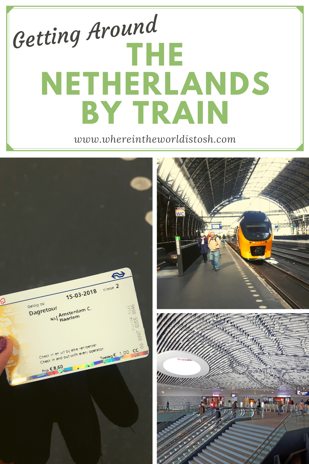 Travelling Netherlands By Train