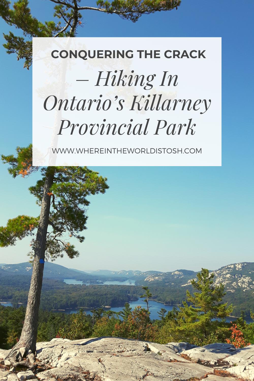Hiking In Killarney Provincial Park
