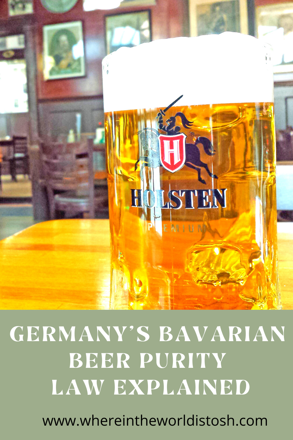 Germanys Bavarian Beer Purity Law Explained