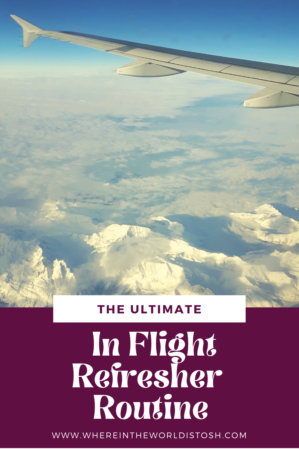 The Ultimate In Flight Refresher Routine
