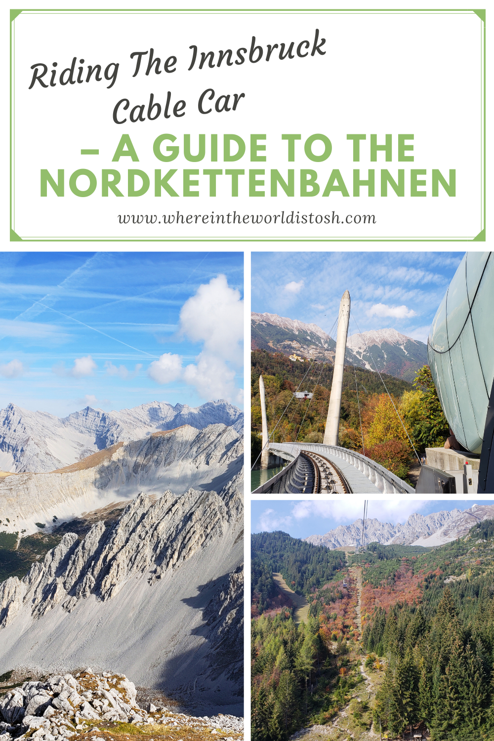 Riding The Innsbruck Cable Car Guide To The Nordkettenbahnen