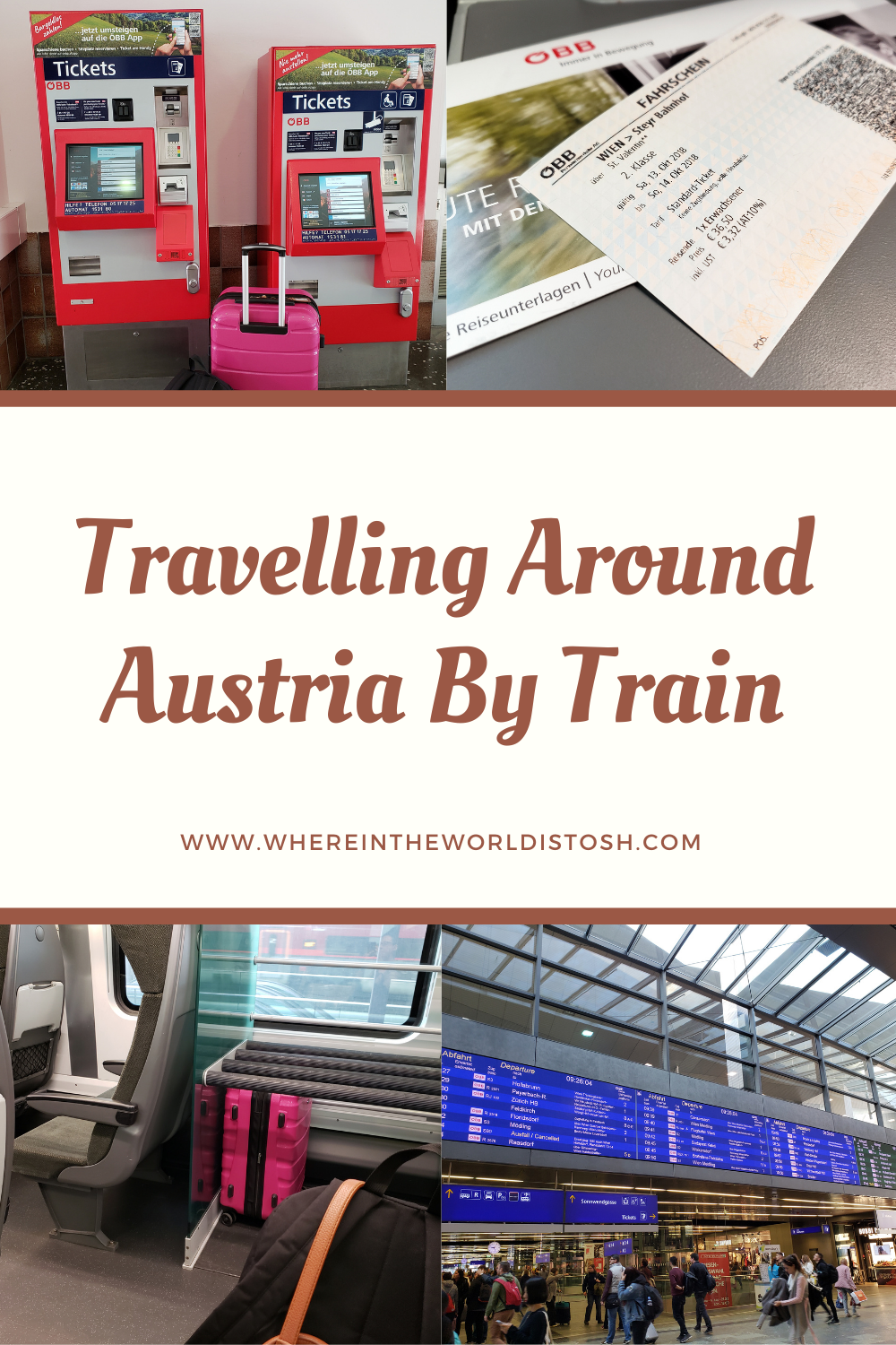 Travelling Around Austria By Train