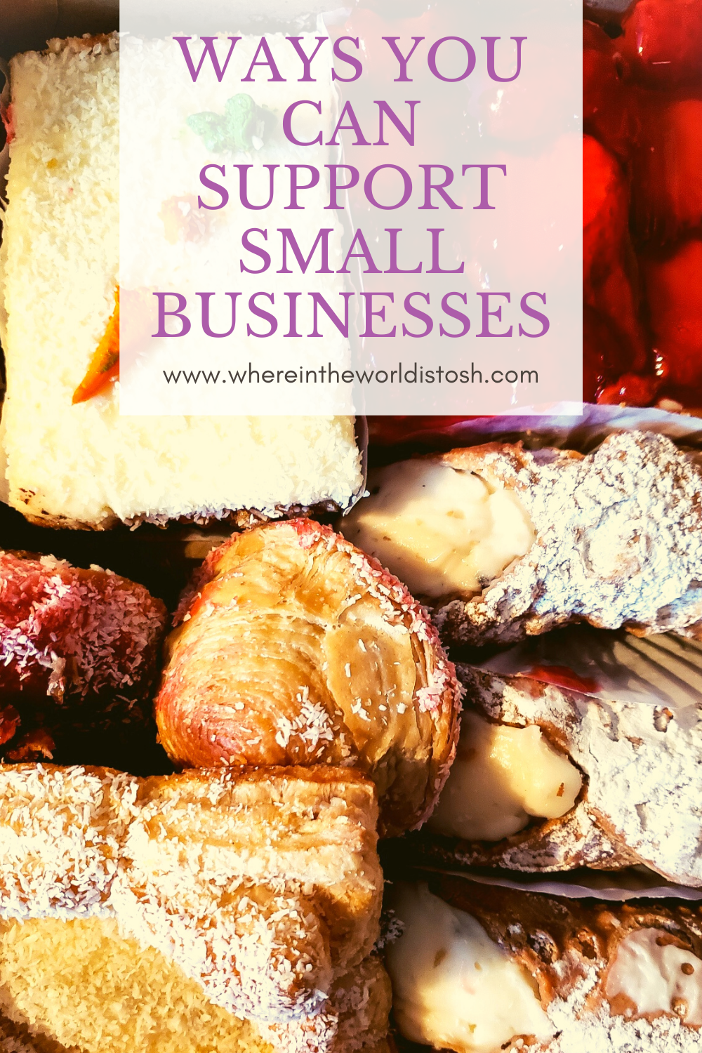 Ways You Can Support Small Businesses