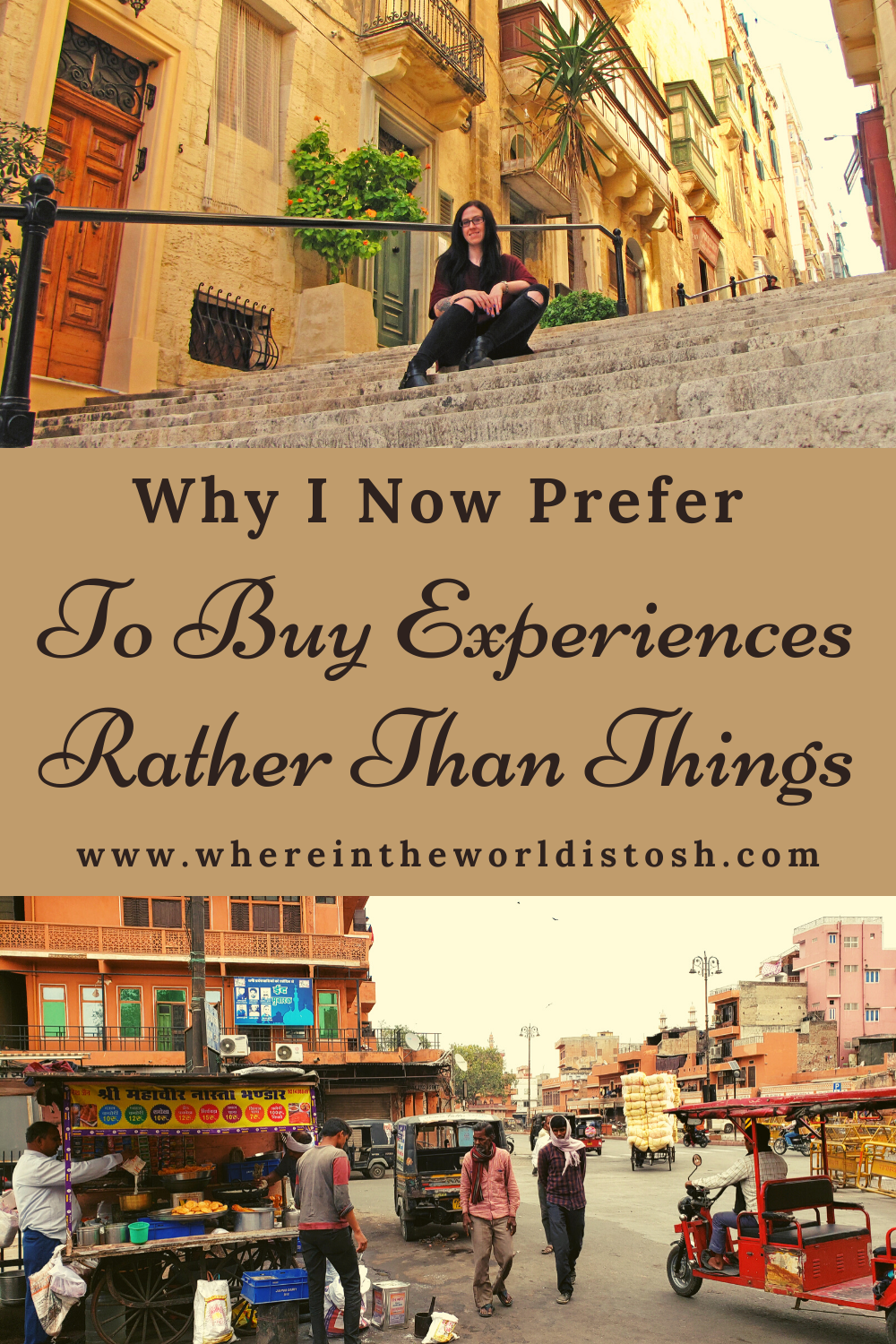 Why I Now Prefer To Buy Experiences Rather Than Things