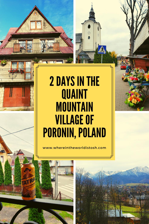 2 Days In The Quaint Mountain Village Of Poronin, Poland